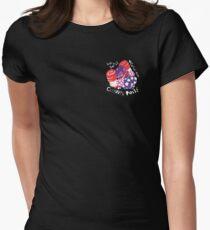 Clown Posse Small Logo Women's Fitted T-Shirt