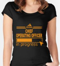 CHIEF OPERATING OFFICER Women's Fitted Scoop T-Shirt