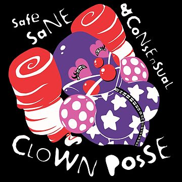 Clown Posse Small Logo by Metricula