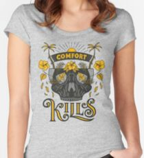 Comfort Kills Women's Fitted Scoop T-Shirt