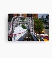 Ride the Coney Island Cyclone Canvas Print