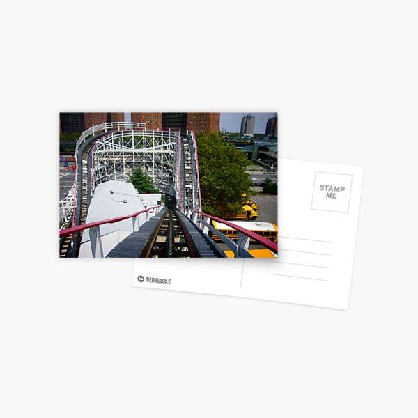 Ride the Coney Island Cyclone Postcard