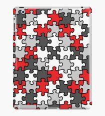 Puzzle Pattern iPad Case/Skin