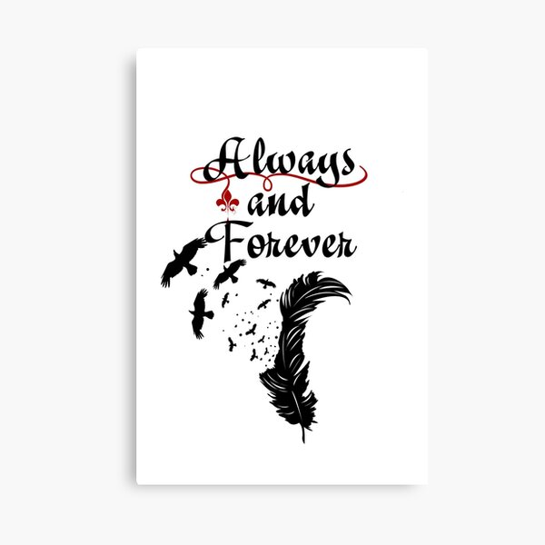 Klaus. Always and Forever. Canvas Print
