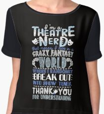Theatre Nerd Women's Chiffon Top