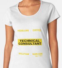 TECHNICAL CONSULTANT Women's Premium T-Shirt