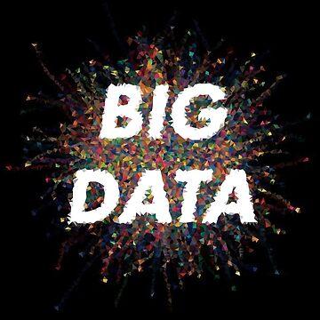 Low Poly Big Data by baba-ganoush