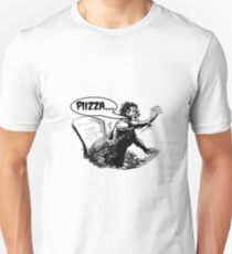 Pizza for Zombies Unisex T-Shirt