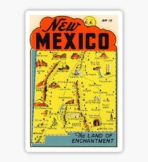 New Mexico Vintage Travel Decal - Land of Enchantment Sticker