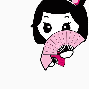 Shy Geisha by mikoto