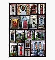 Doors of Charleston Photographic Print