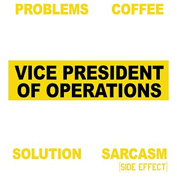 VICE PRESIDENT OF OPERATIONS by morrowfrazier