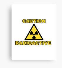Radioaktiv Leinwanddruck