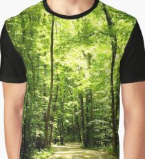 Tree Lined Graphic T-Shirt