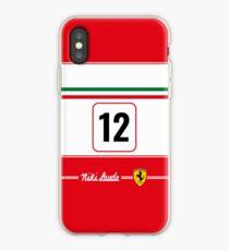Vinilo o funda para iPhone Niki Lauda 1975