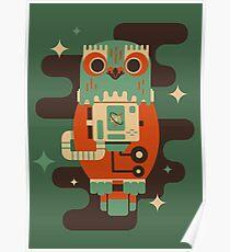 Owlstranaut Poster
