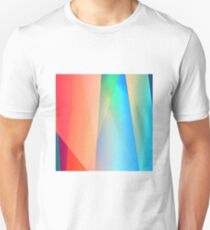 Abstract contemporary colors Unisex T-Shirt