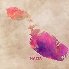 Malta map #malta #map by JBJart