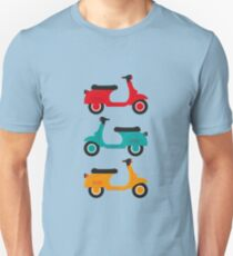 retro and classic motorbike Unisex T-Shirt