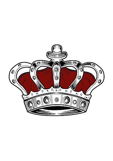 Crown - Red by Adam Santana