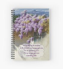 Proclaiming Peace Spiral Notebook