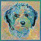 Bunter Hund von Celso Studio