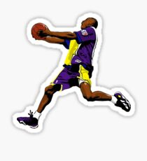 Kobe Bryant Dunk Sticker