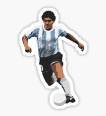 Diego Maradona Sticker