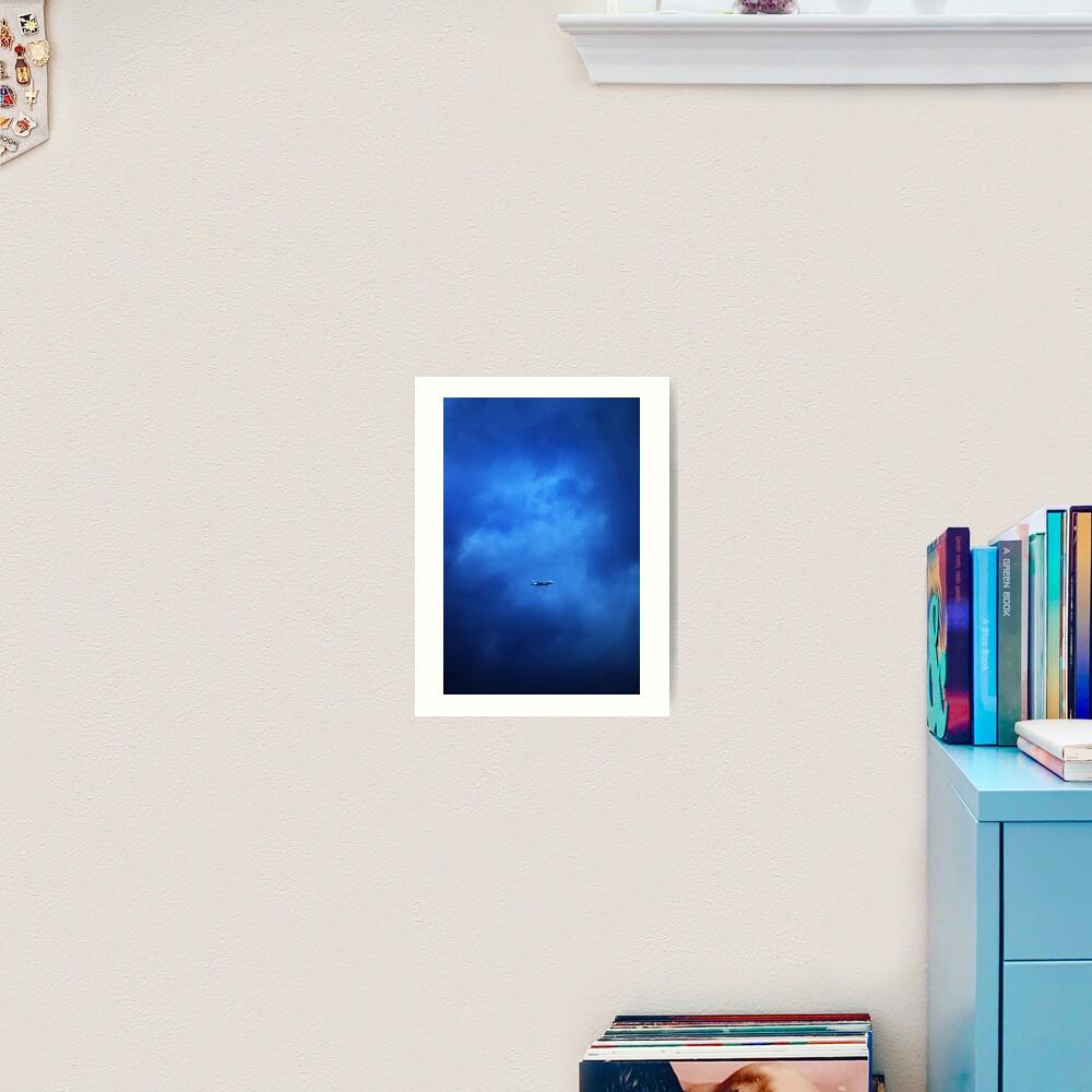 Departing Terra Forever Art Print