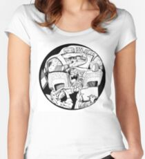 Let's go on a road trip  Women's Fitted Scoop T-Shirt