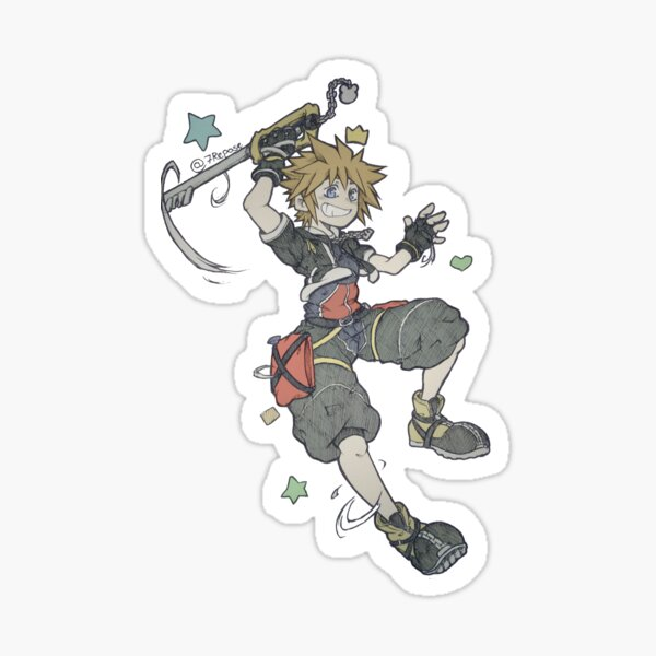 Kingdom Hearts - Sora Sticker
