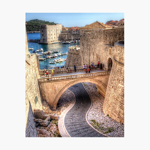 Down to the Harbour Photographic Print