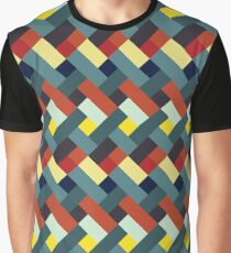 Warm and cold colors pattern Graphic T-Shirt