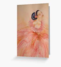 Prima Ballerina 'Le Belle Ballerine' © Patricia Vannucci 2008 Greeting Card