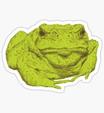 A Toad Named Ali Sticker