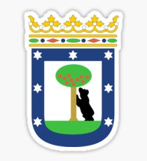 Madrid coat of arms Sticker