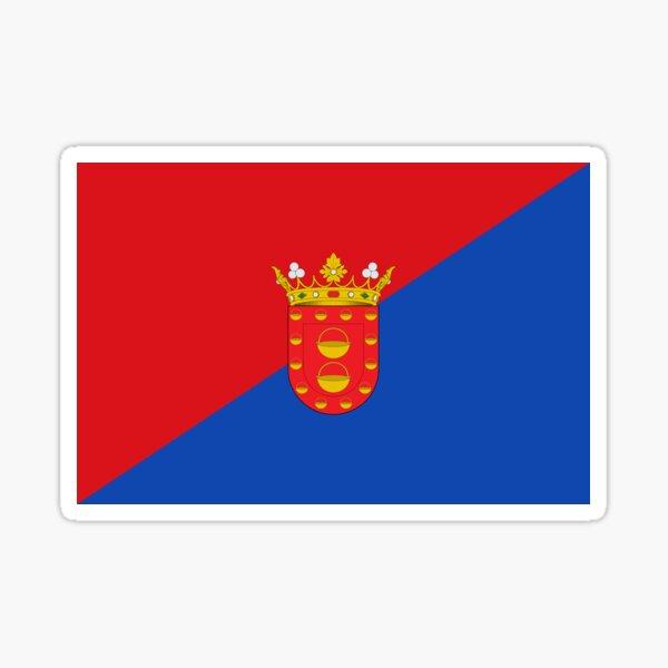 Bandera de Lanzarote, Islas Canarias Pegatina