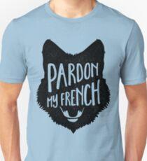 Pardon My French Fox Unisex T-Shirt