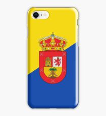 Gran Canaria Flag iPhone Case/Skin