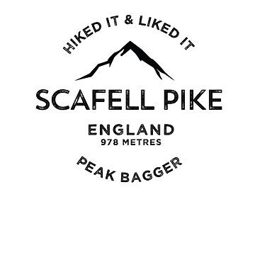 Scafell Pike-Peak Bagging t-shirt by broadmeadow