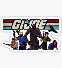 G.I. Joe Animated series Sticker