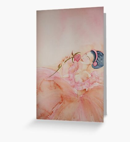 Sweet Performance 'Le Belle Ballerine' © Patricia Vannucci 2008 Greeting Card