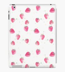 Fresh natural fruit strawberry product iPad Case/Skin