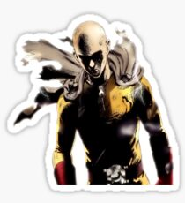 One punch man serious Sticker