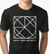 Monsta X World Tour - Beautiful Tri-blend T-Shirt