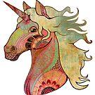 the unicorn von KerstinSchoene