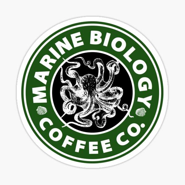 Marine Biology Coffee Co. (Octopus) Sticker