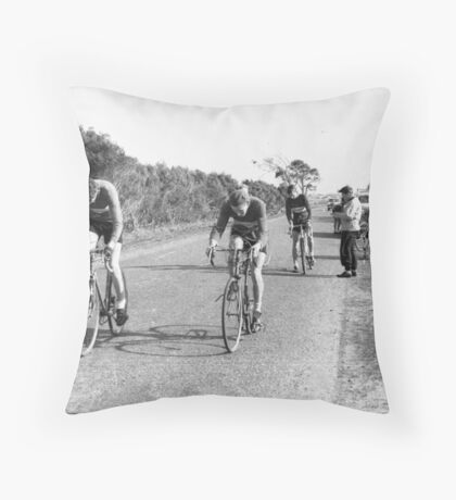 Chelsea Bicycle Club Throw Pillow