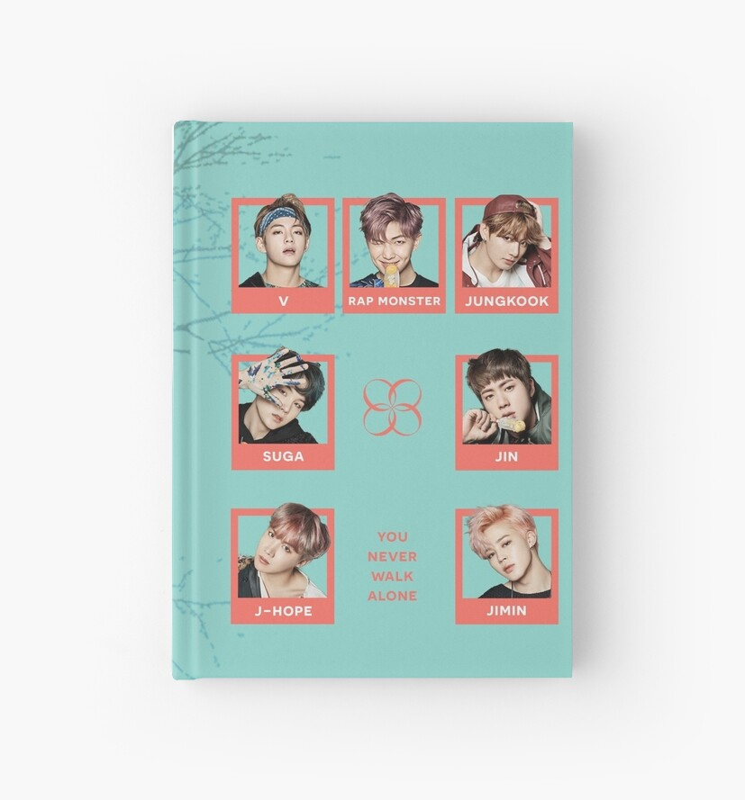 BTS You Never Walk Alone Journal by Sam Liu