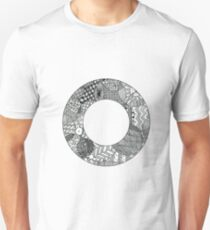 Zentangle O Unisex T-Shirt